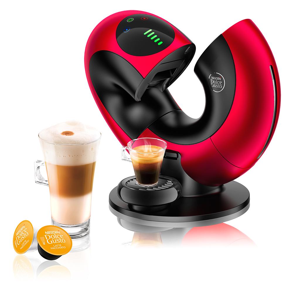 【Eclipse星夜紅】DOLCE GUSTO雀巢膠囊咖啡機
