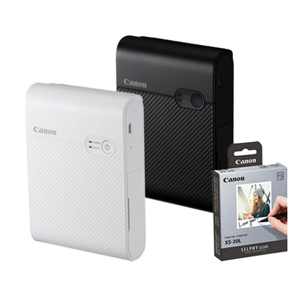 Canon SELPHY SQUARE QX10 印相機 (公司貨) -送XS-20L相紙(20張)