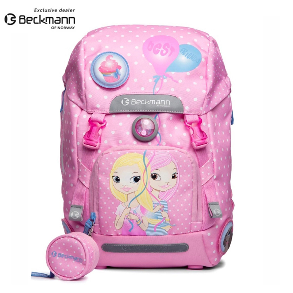 Beckmann 挪威護脊書包 Pink 2016