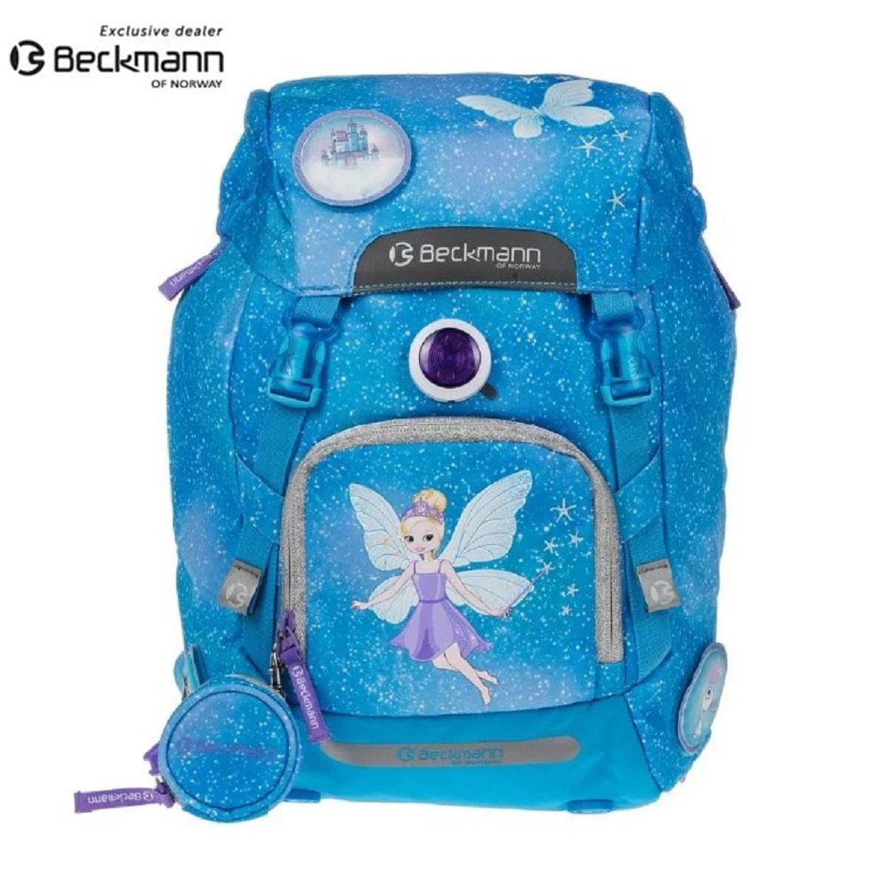 Beckmann  挪威護脊書包 Turquoise Fairy 2017