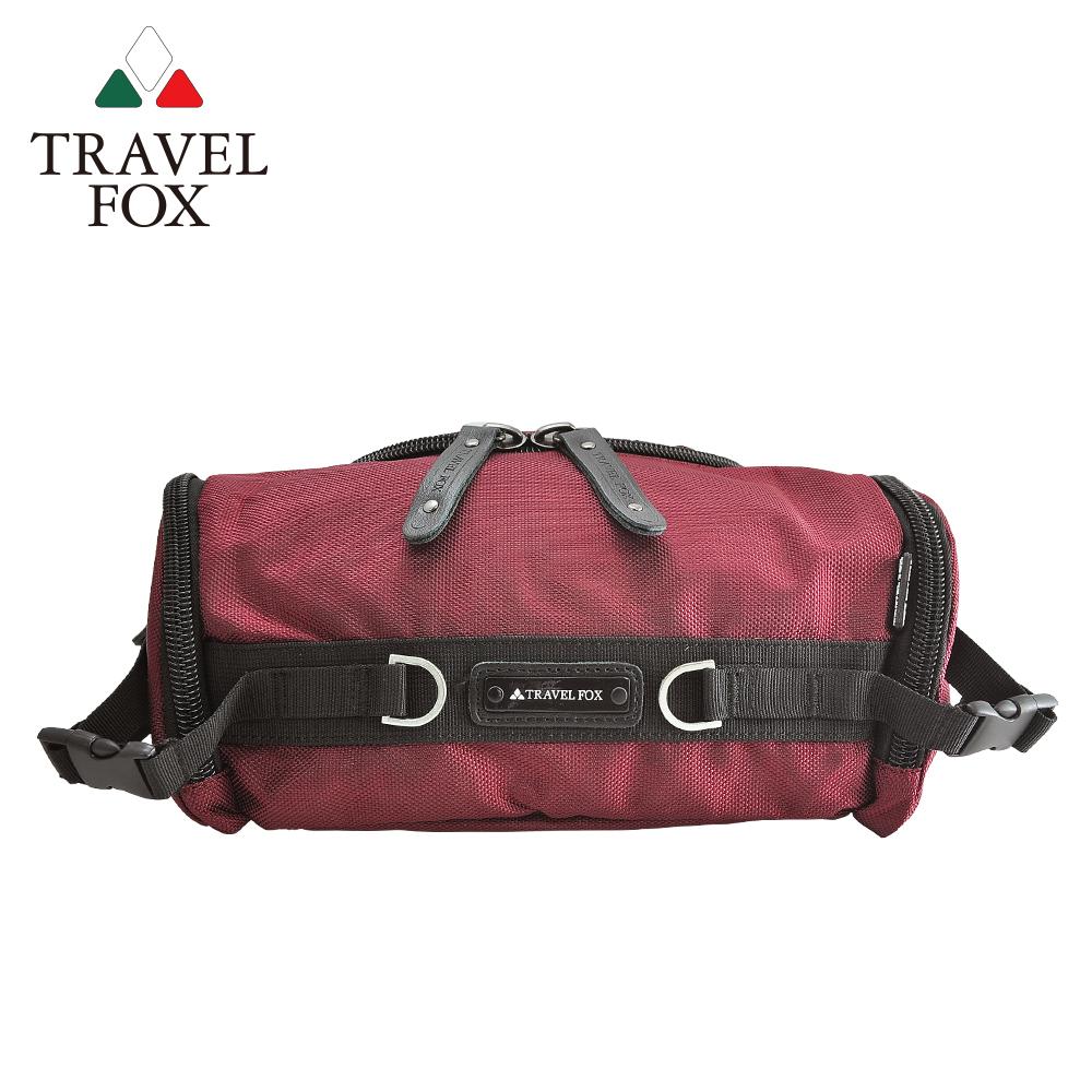 【TRAVEL FOX 旅狐】經典防潑水臀/腰/斜背包 (TB236-04) 紅色