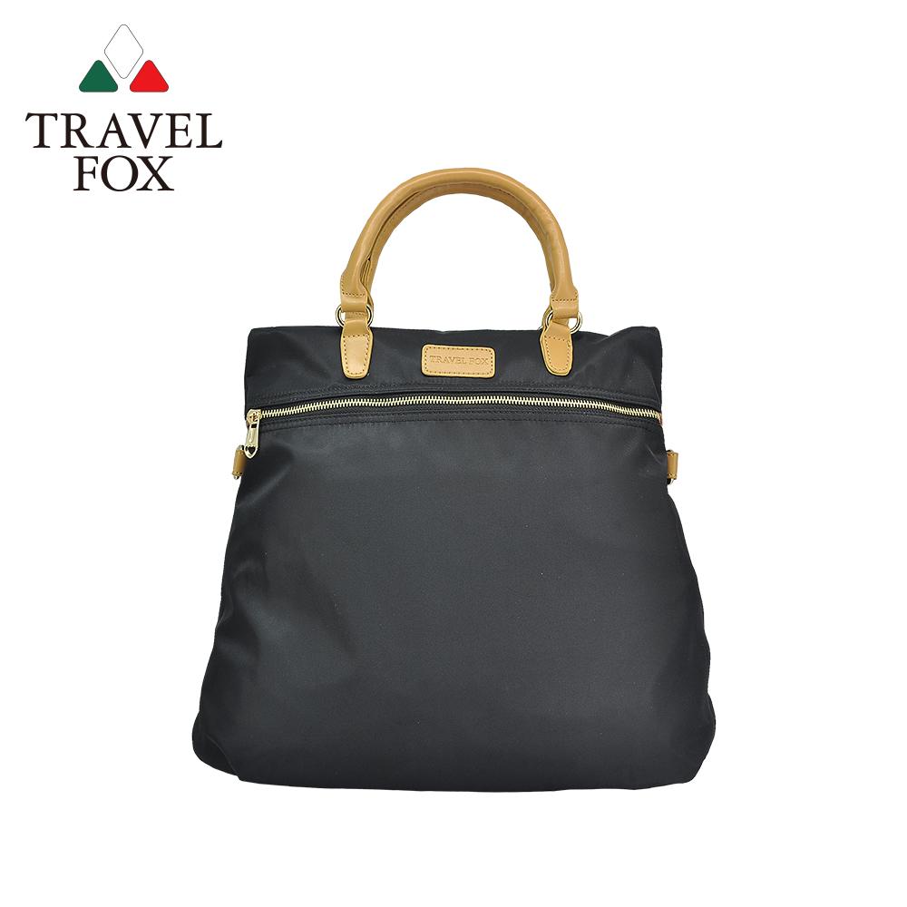 【TRAVEL FOX 旅狐】親輕3WAYS三用尼龍包 (TB693-01) 黑色