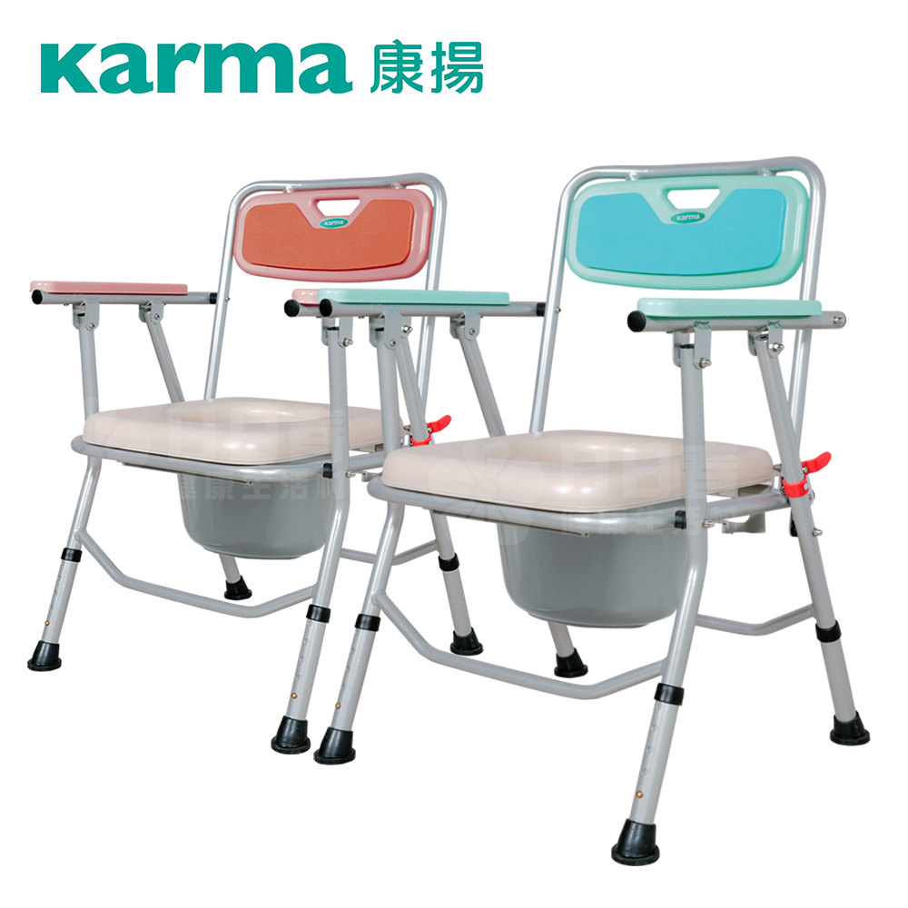 康揚 鋁合金洗澡便盆兩用椅 好方便201 CC5050 洗澡椅 便盆椅 便器