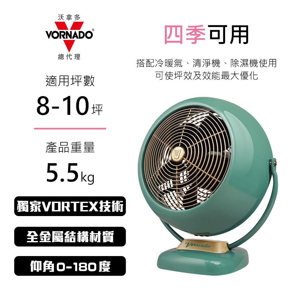 【VORNADO沃拿多官方旗艦店】VF20SR-TW  經典復古渦循環扇 總代理 馬達六年保固