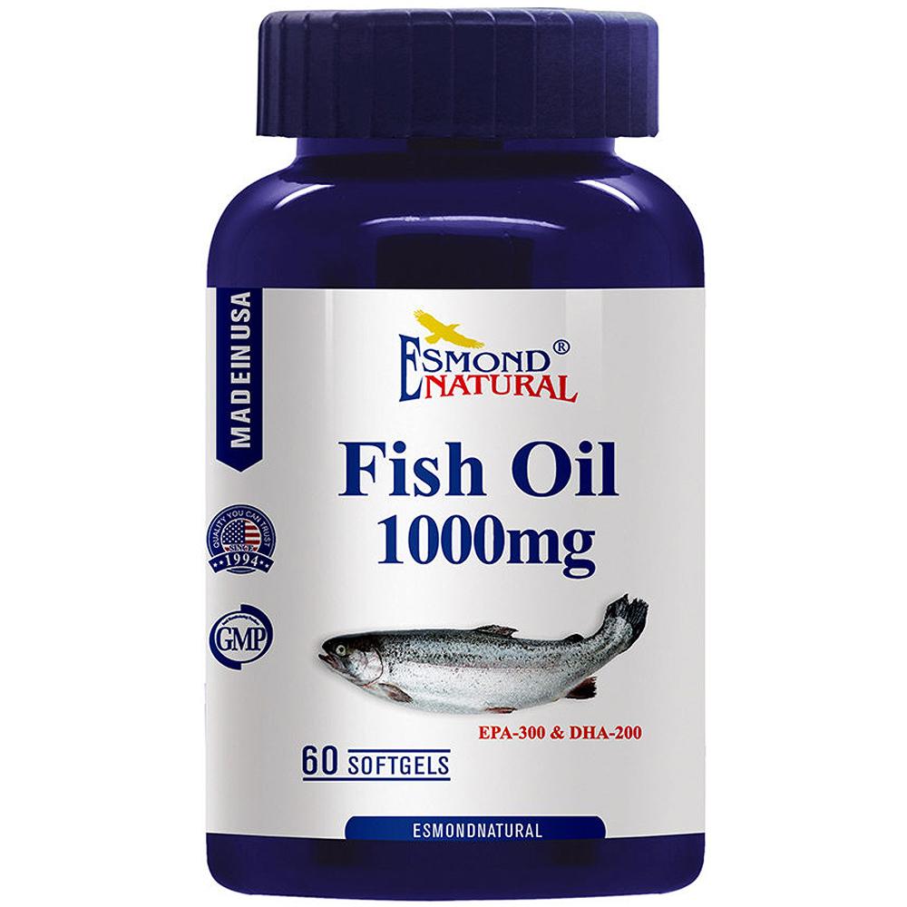 愛司盟 純淨魚油軟膠囊60顆
