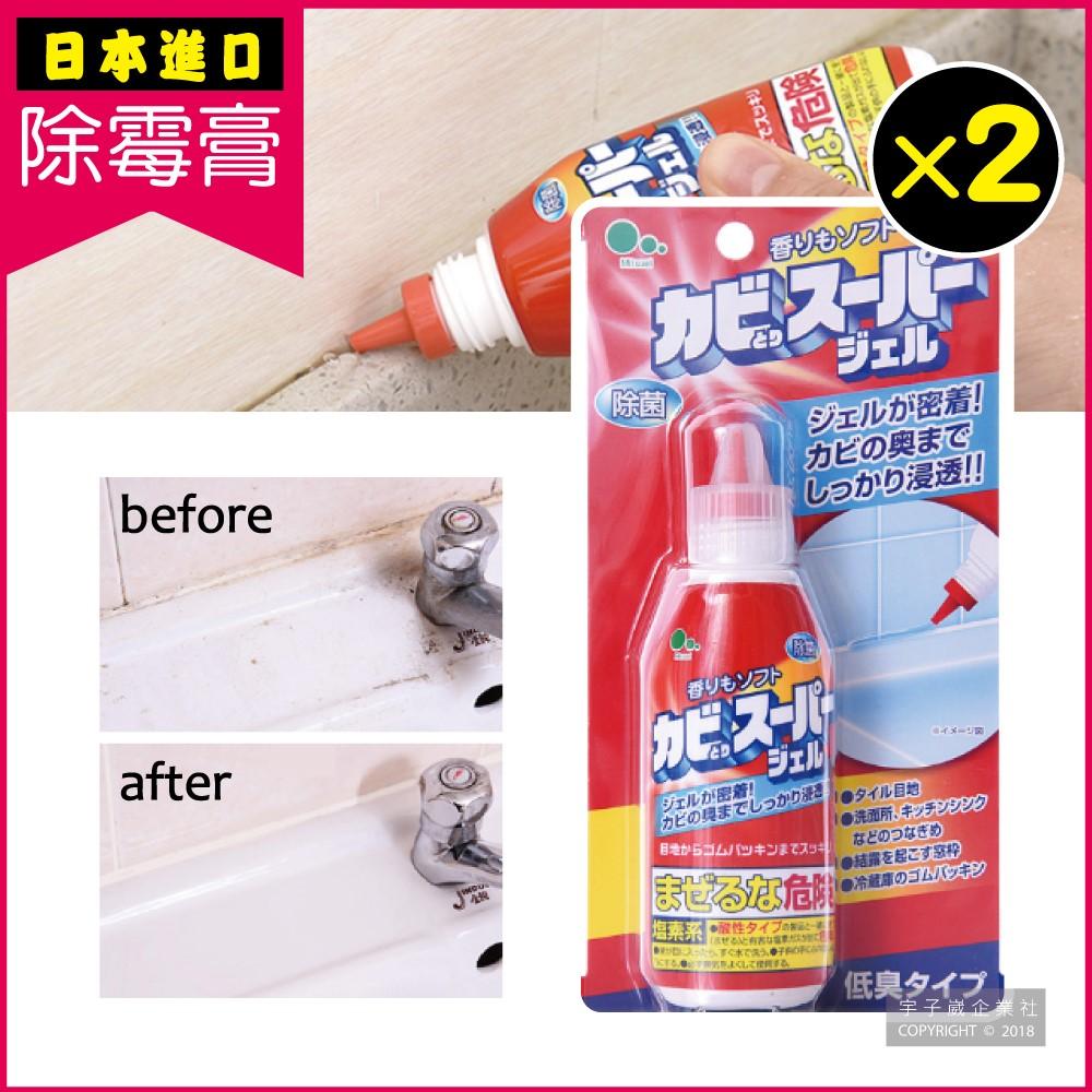 2件超值組【日本Mitsuei】強效深層去汙除霉膏(100ml) (浴室地板牆面磁磚除霉劑)