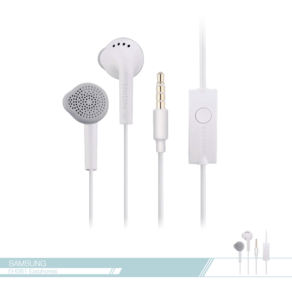 Samsung三星 原廠 EHS61 平耳式線控耳機 (3.5mm) J系列款式