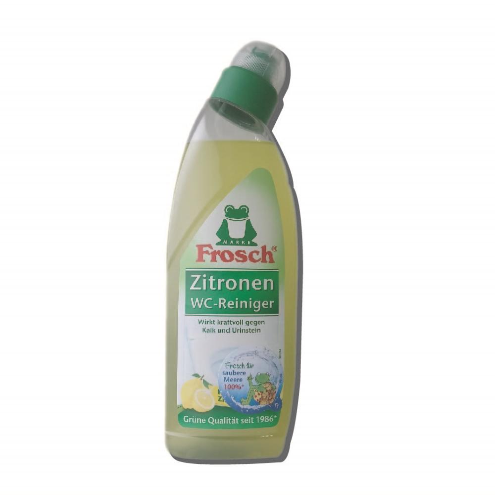 德國 Frosch 檸檬馬桶清潔劑 750ml-10入(箱購)