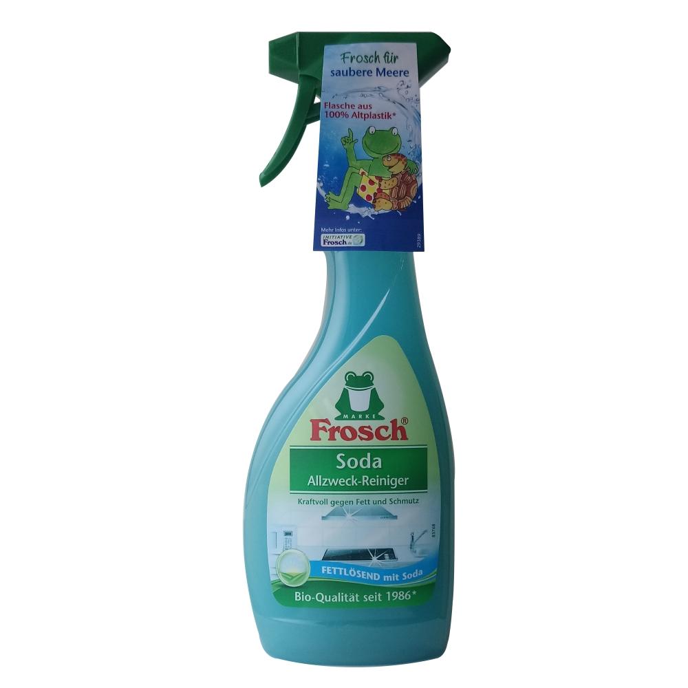 德國 Frosch 小蘇打廚房清潔噴霧 500ml-8入(箱購)
