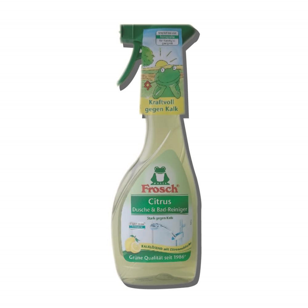 德國 Frosch 檸檬衛浴清潔噴霧 500ml-12入(箱購)