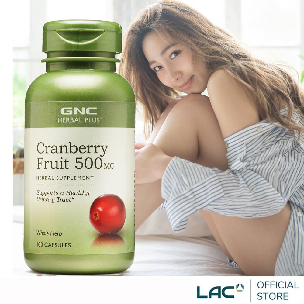 【GNC健安喜】私密呵護 蔓越莓膠囊食品 90顆