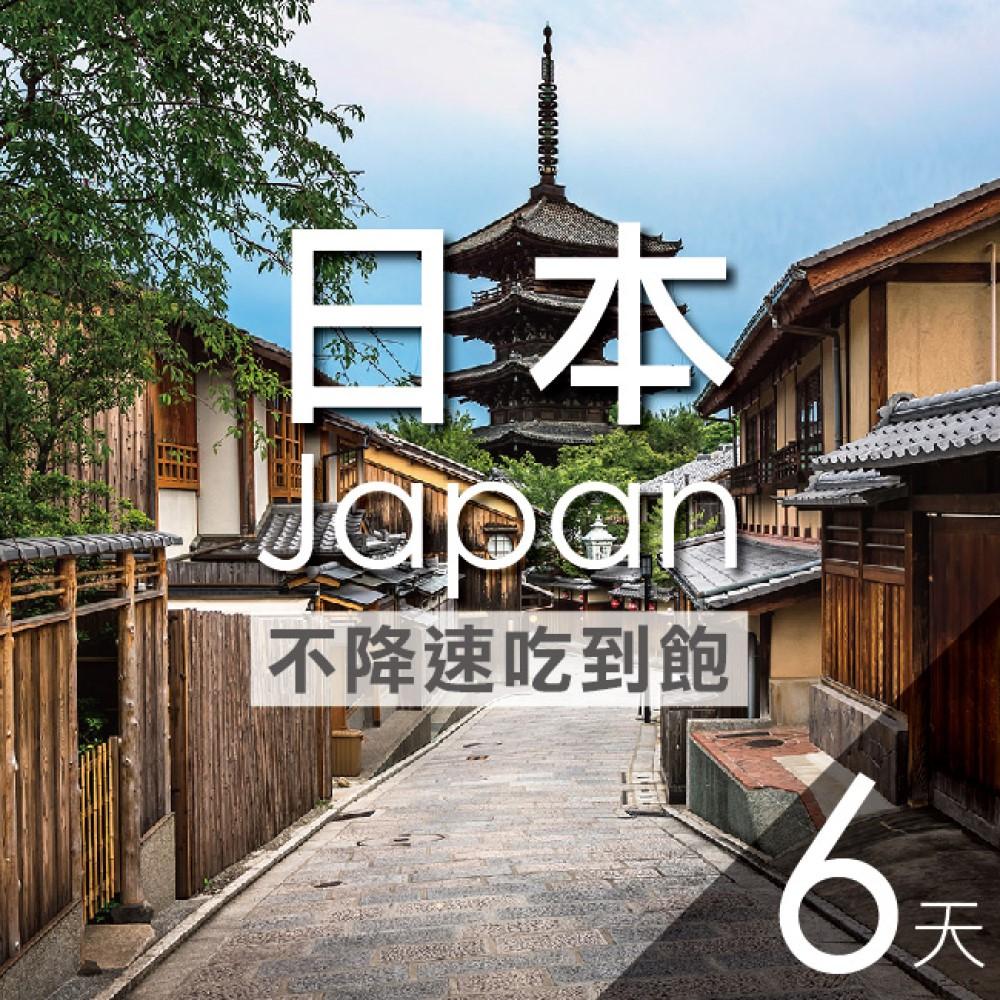 【WANT CARD】日本網卡 6天 不降速不限流量吃到飽 隨插即用 免開卡 免設定 流量卡 上網卡 漫遊卡