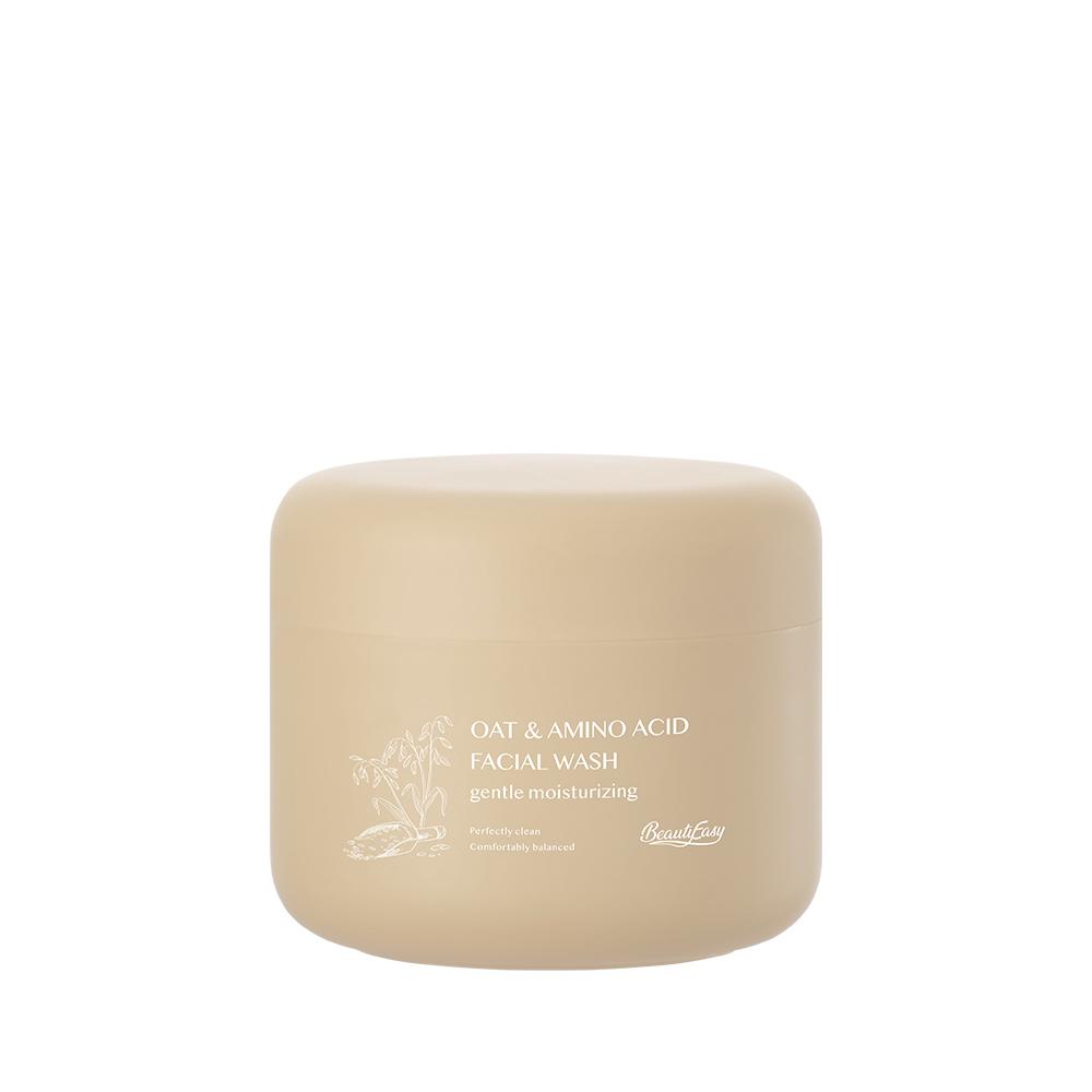 BeautyEasy胺基酸燕麥溫和保濕洗面皂120ml_單一款式