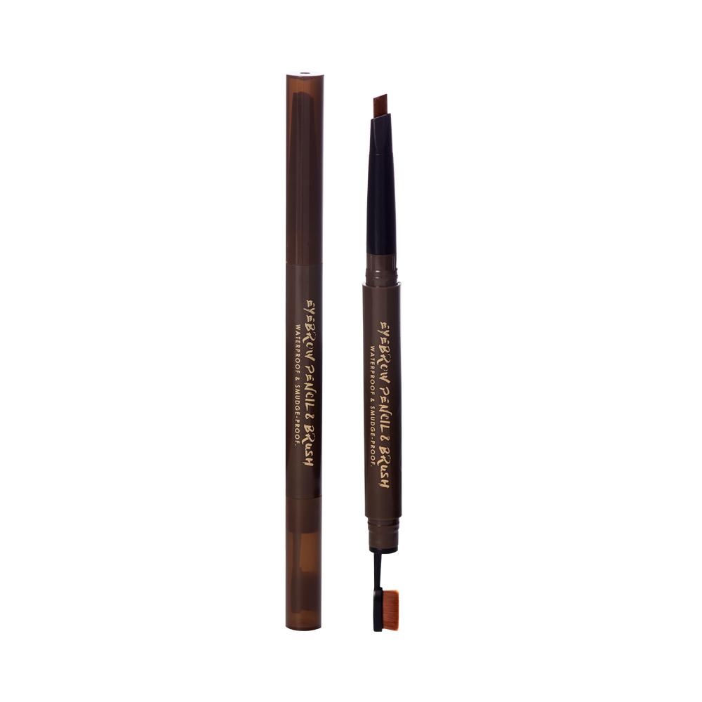 【MRTBM018C】BEAUTY MAKER玩美立體持色眉膠筆0.28g_紅褐
