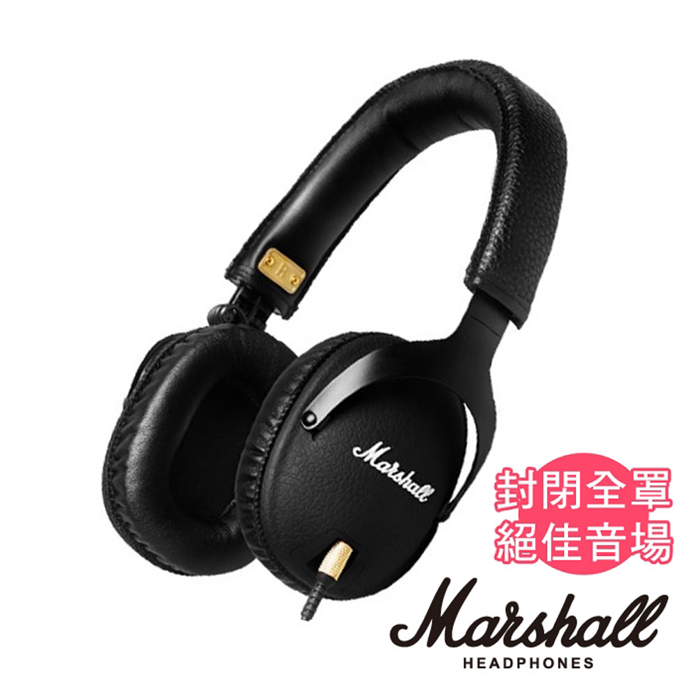 Marshall MONITOR BLACK 耳罩式耳機 經典黑