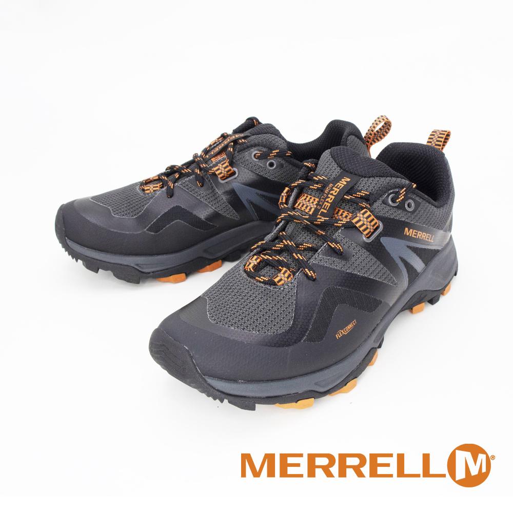 MERRELL(男)MQM FLEX 2 MID GORE-TEX郊山健行鞋 男鞋 - 黑桔