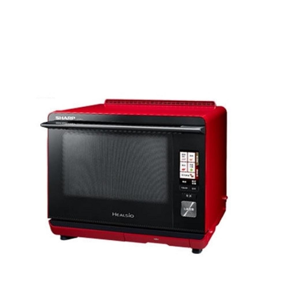 SHARP 夏普 30L Healsio水波爐-番茄紅(AX-XP5T)
