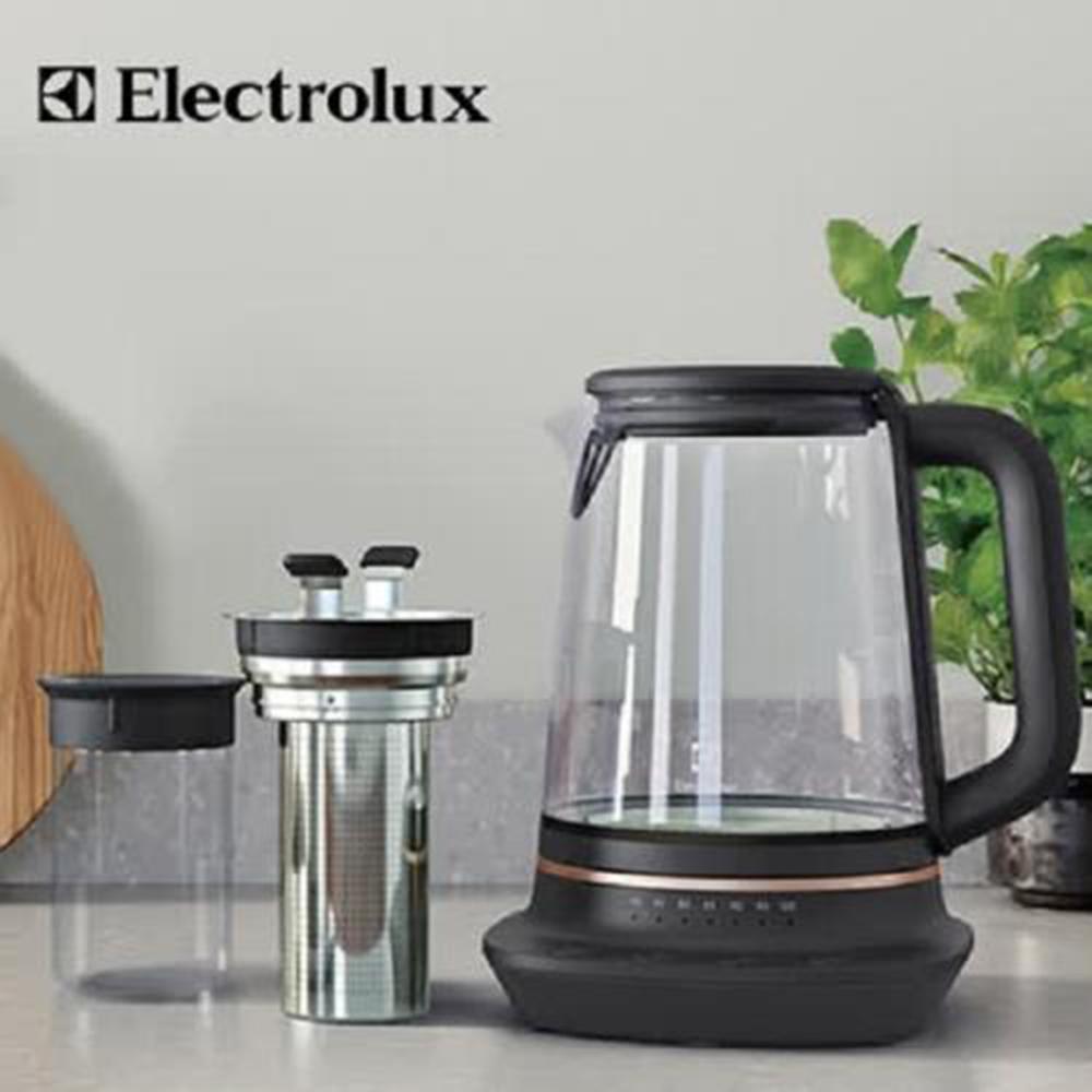 伊萊克斯 玻璃溫控電茶壺(E7GK1-73BP )