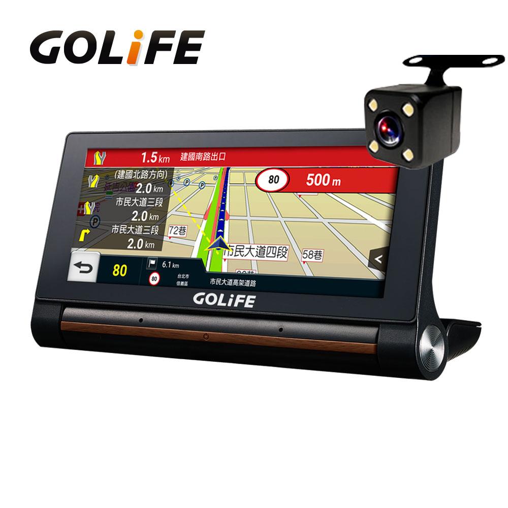 【GOLiFE】GoPad X 智慧四合一中控行車導航平板-附倒車顯影鏡頭組