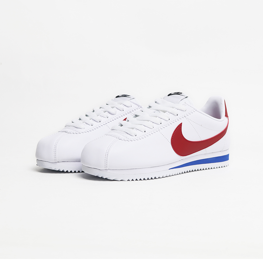NIKE Classic Cortez Leather 白紅經典復古阿甘鞋 807471-103