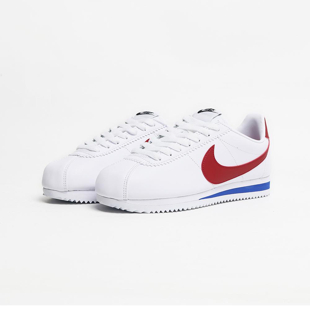 白紅經典復古阿甘鞋