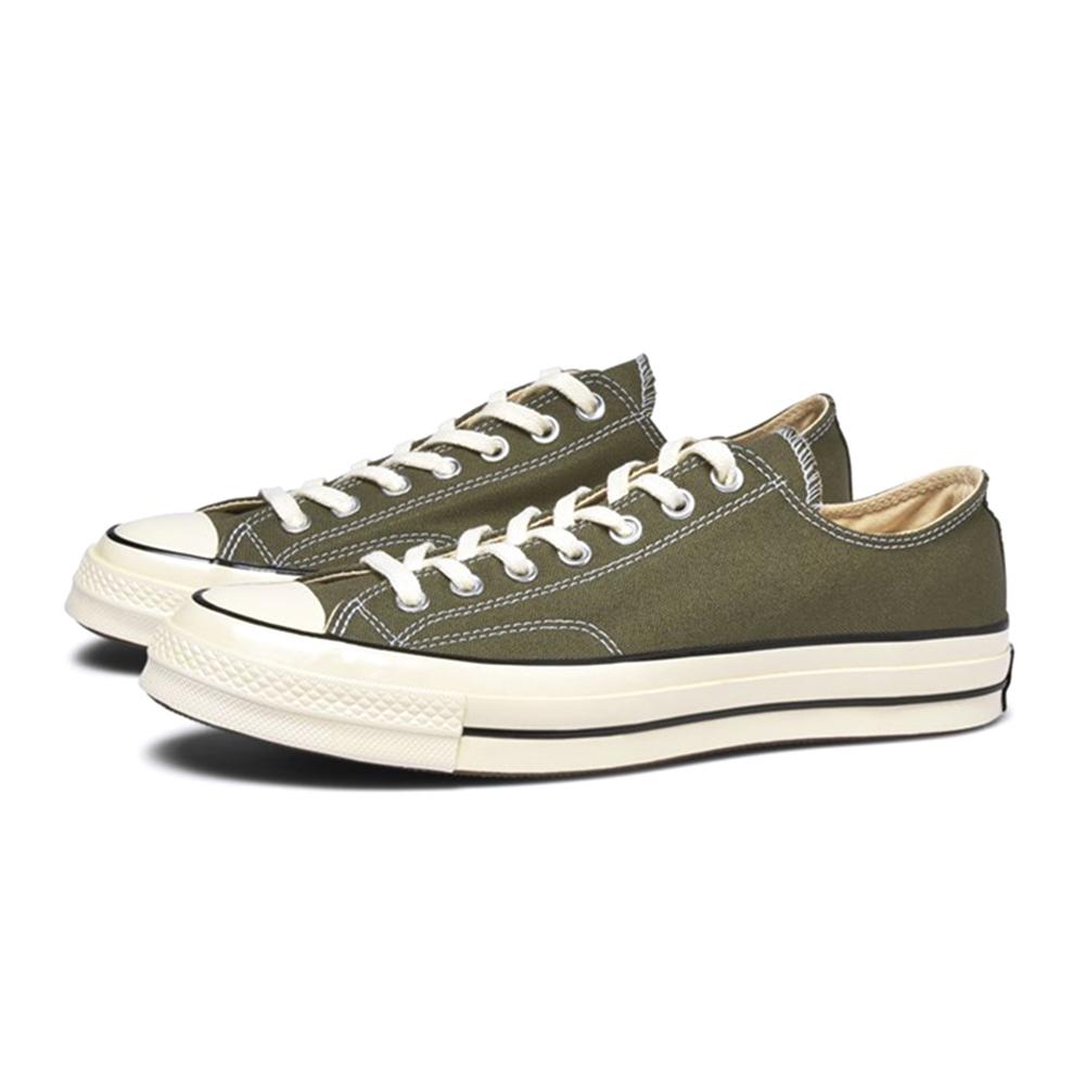 CONVERSE CHUCK 1970 男女低筒帆布鞋 軍綠 162060C