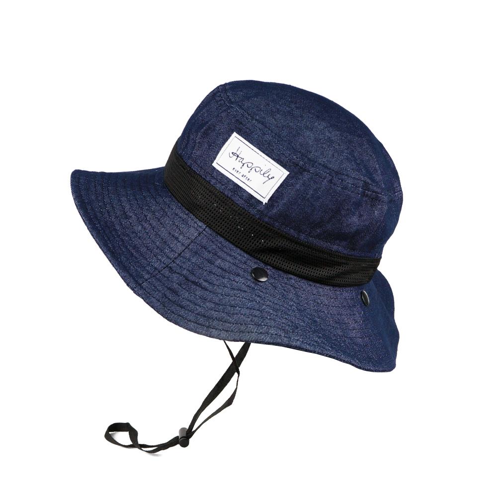 日本AUBE 抗UV登山健行護頸防曬漁夫帽