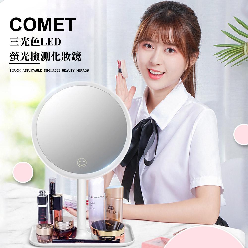 【COMET】三光色LED螢光檢測化妝鏡(FSN002)