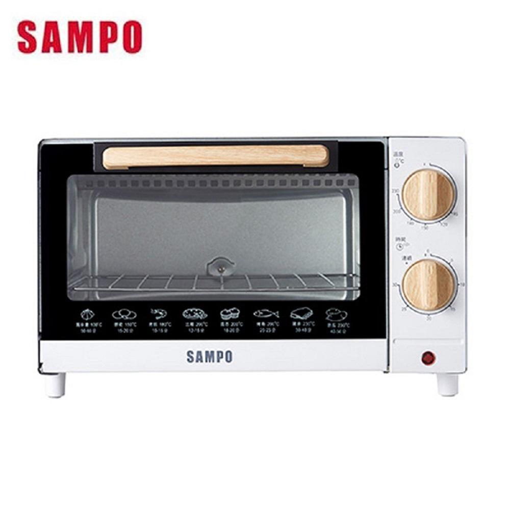 SAMPO 聲寶 10L溫控機械式電烤箱 KZ-CB10-