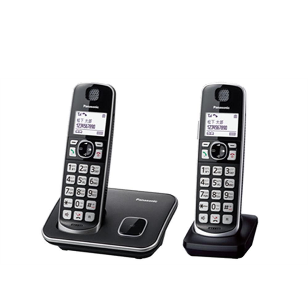 Panasonic 國際牌 DECT長輩用數位無線電話 (雙子機) KX-TGE612TWB/KX-TGE612-