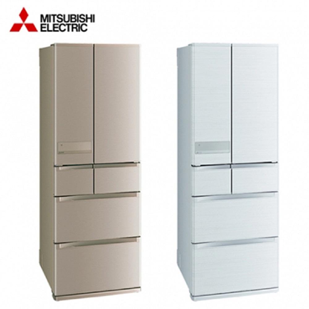 MITSUBISH 三菱 日製六門525L一級能變頻冰箱 玫瑰金MR-JX53C-N-含基本安裝+舊機回收
