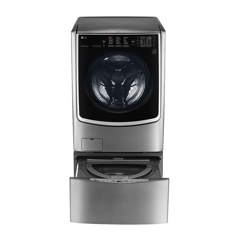 LG 滾筒蒸洗脫烘-21KG+下層2.5KG洗衣機 F2721HTTV+WT-D250HV (TWINWash)