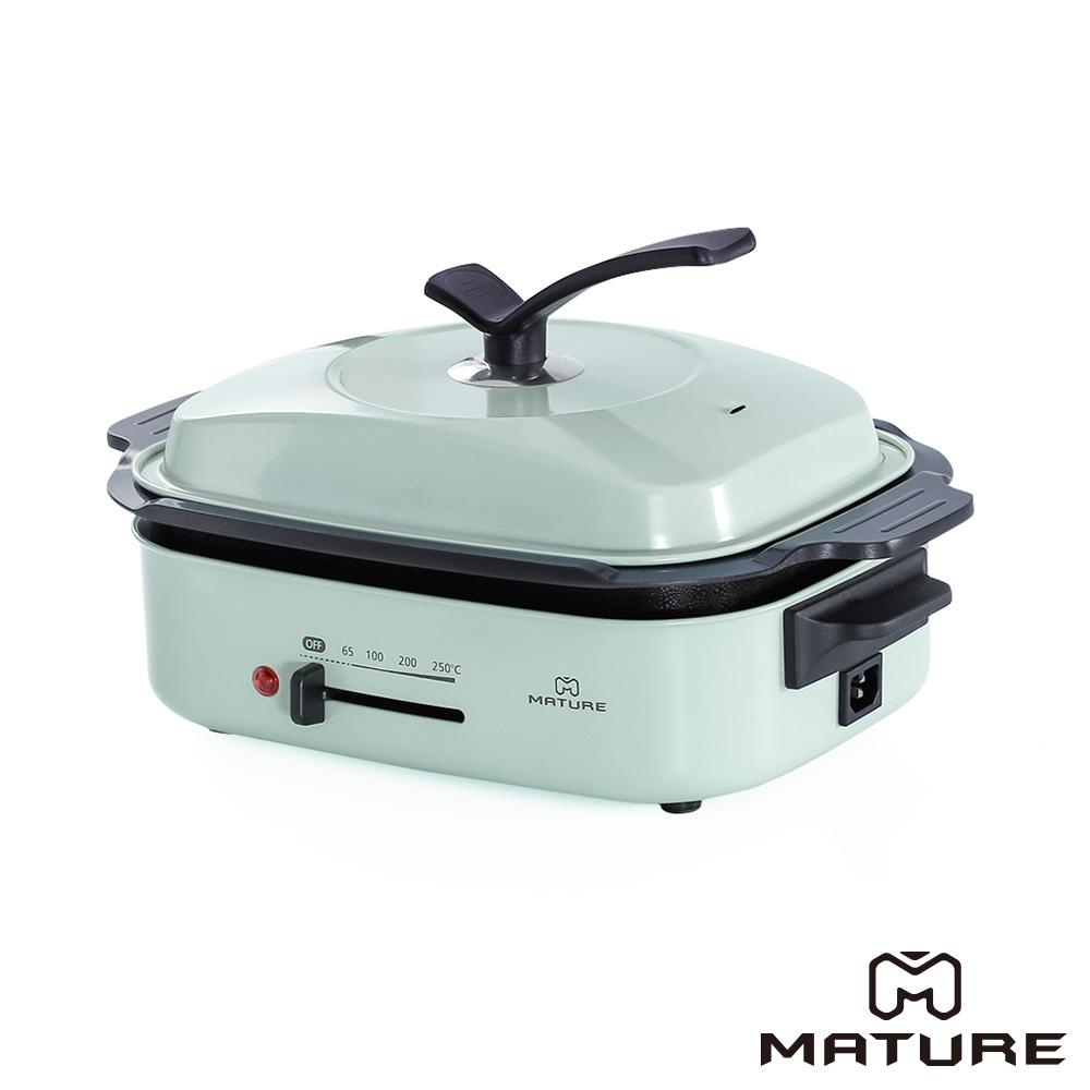 MATURE美萃 健康油切陶瓷燒烤盤CY-1660