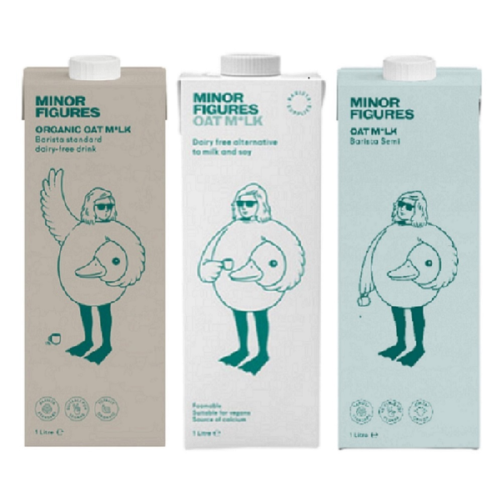【Minor Figures 小人物】燕麥奶/低脂燕麥奶/濃厚版燕麥奶 1000ml/瓶 共6瓶