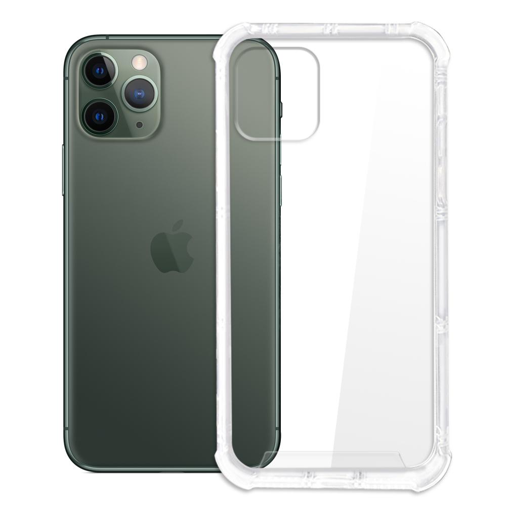 【SHOWHAN】iPhone 11 Pro 四角強化TPU矽膠+PC背板氣囊防摔空壓殼