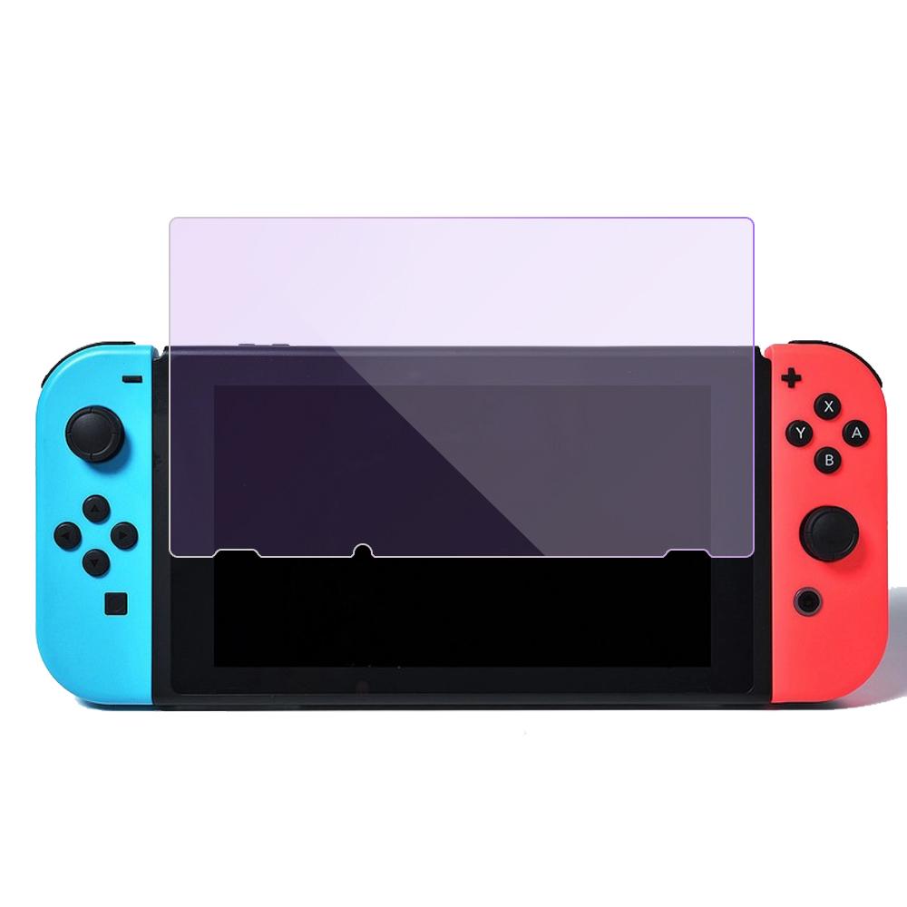 【SHOWHAN】任天堂 Nintendo Switch 9H 藍紫光鋼化玻璃保護貼