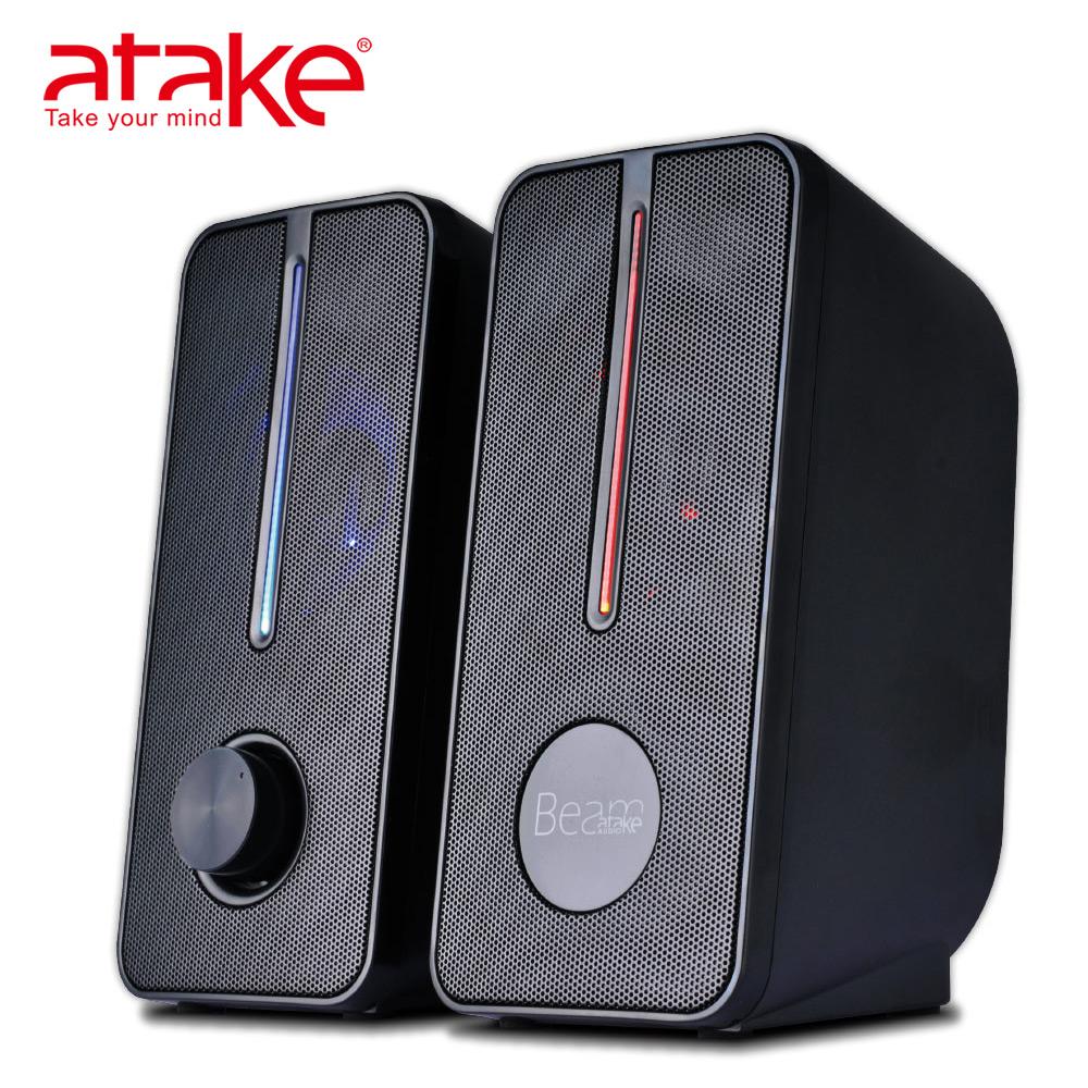 【ATake】- 桌上型多媒體喇叭 FIB-1K-006