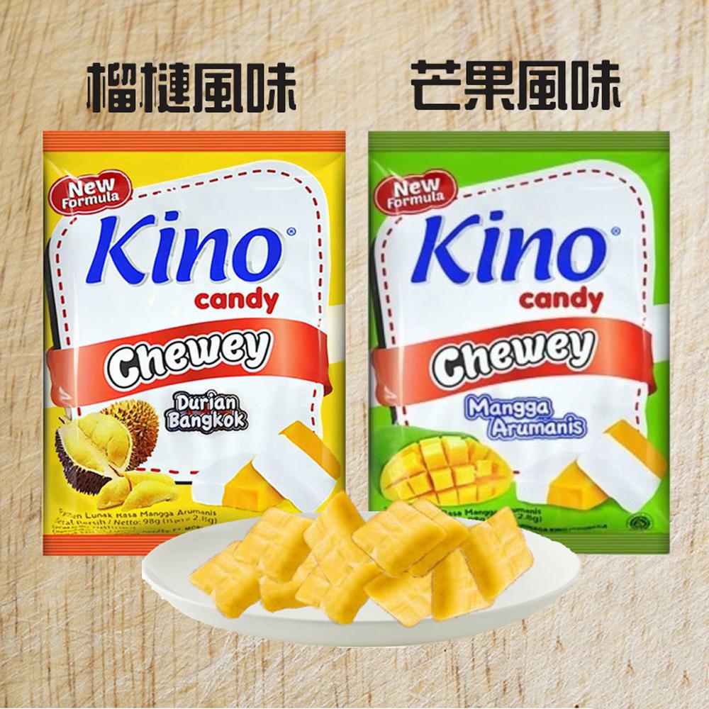 【印尼】Kino 水果軟糖果 (榴槤/芒果) X6包