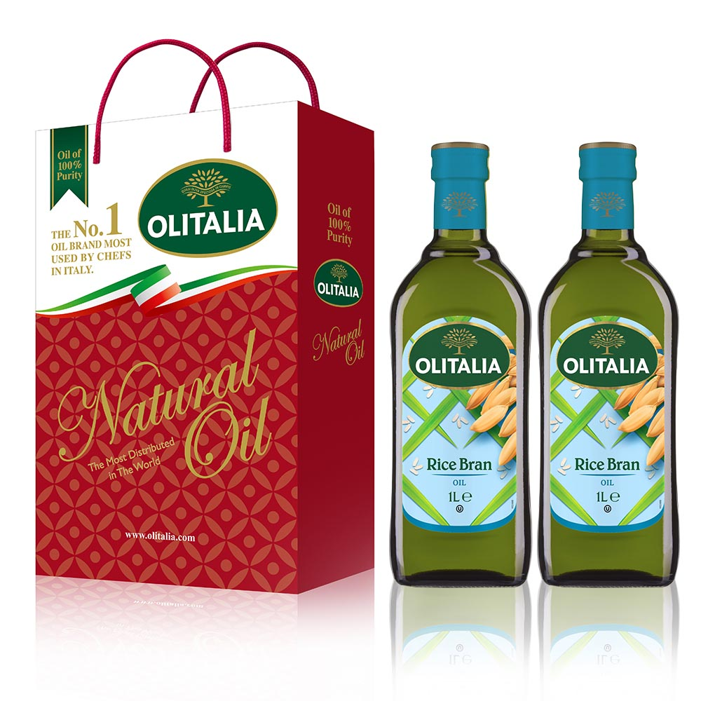 【Olitalia奧利塔】義大利玄米油禮盒(2罐/組)6組 共 12罐/組