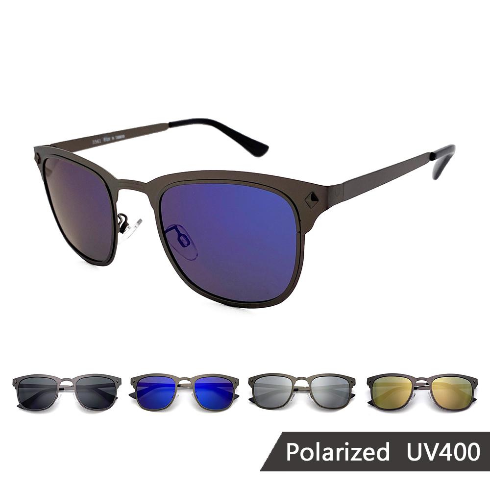 MIT偏光墨鏡 薄鋼款 太陽眼鏡 抗UV【35561】