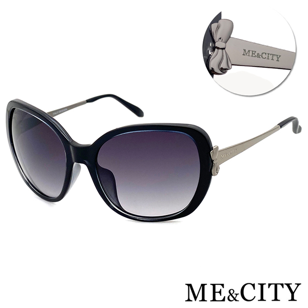 ME&CITY 典藏高貴蝴蝶結太陽眼鏡 抗UV400 (ME 120021 L10)
