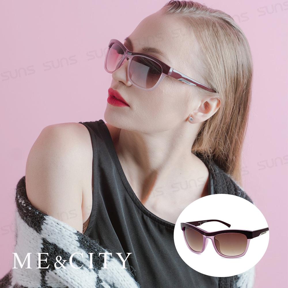 ME&CITY 義式戀語雙色太陽眼鏡 抗UV400 (ME 120026 H230)