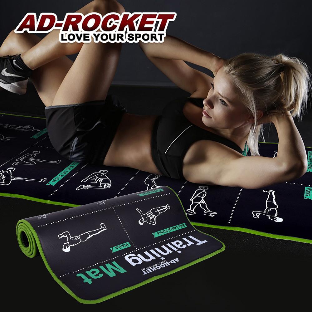 【AD-ROCKET】第二代核心肌群訓練墊/專業加厚訓練運動墊(10mm)