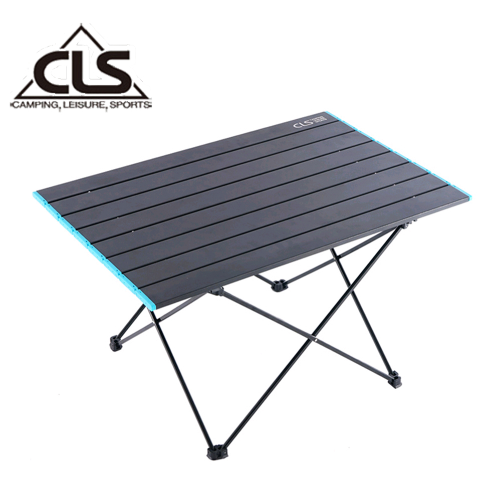【韓國CLS】鋁合金折疊蛋捲桌/摺疊桌/露營桌/登山/野餐/露營(特大型)