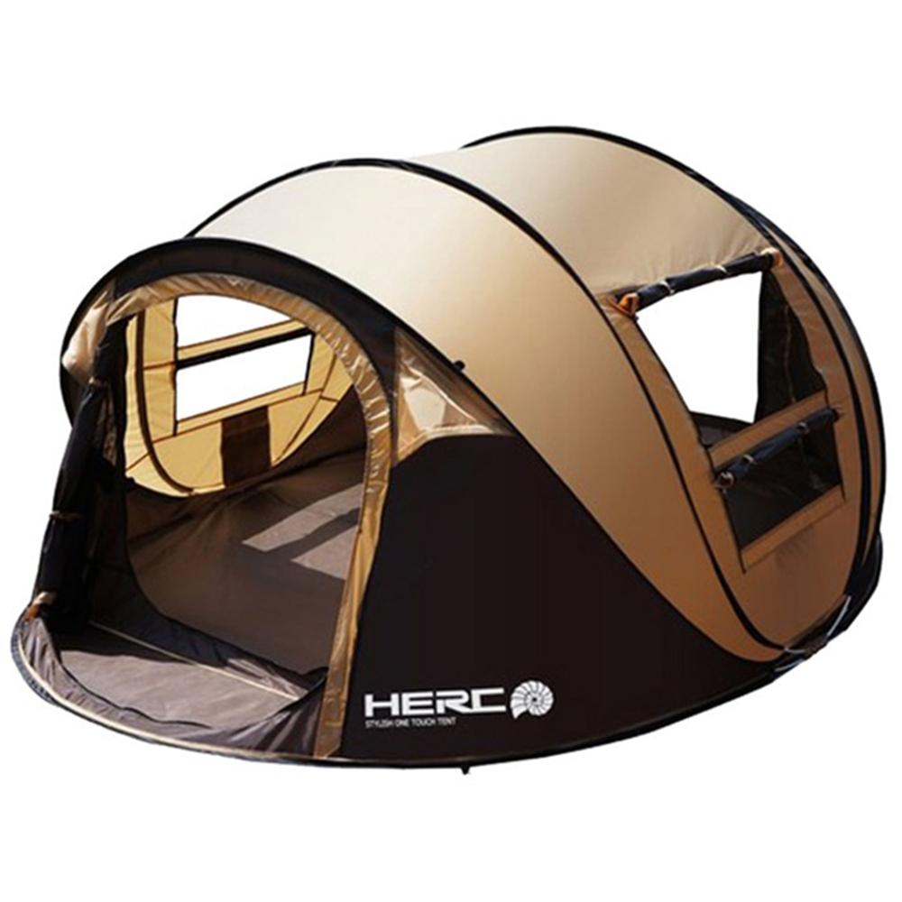 【IDOOGEN】一房兩廳5~6人全自動快速帳篷 速搭帳 秒開帳 帳篷