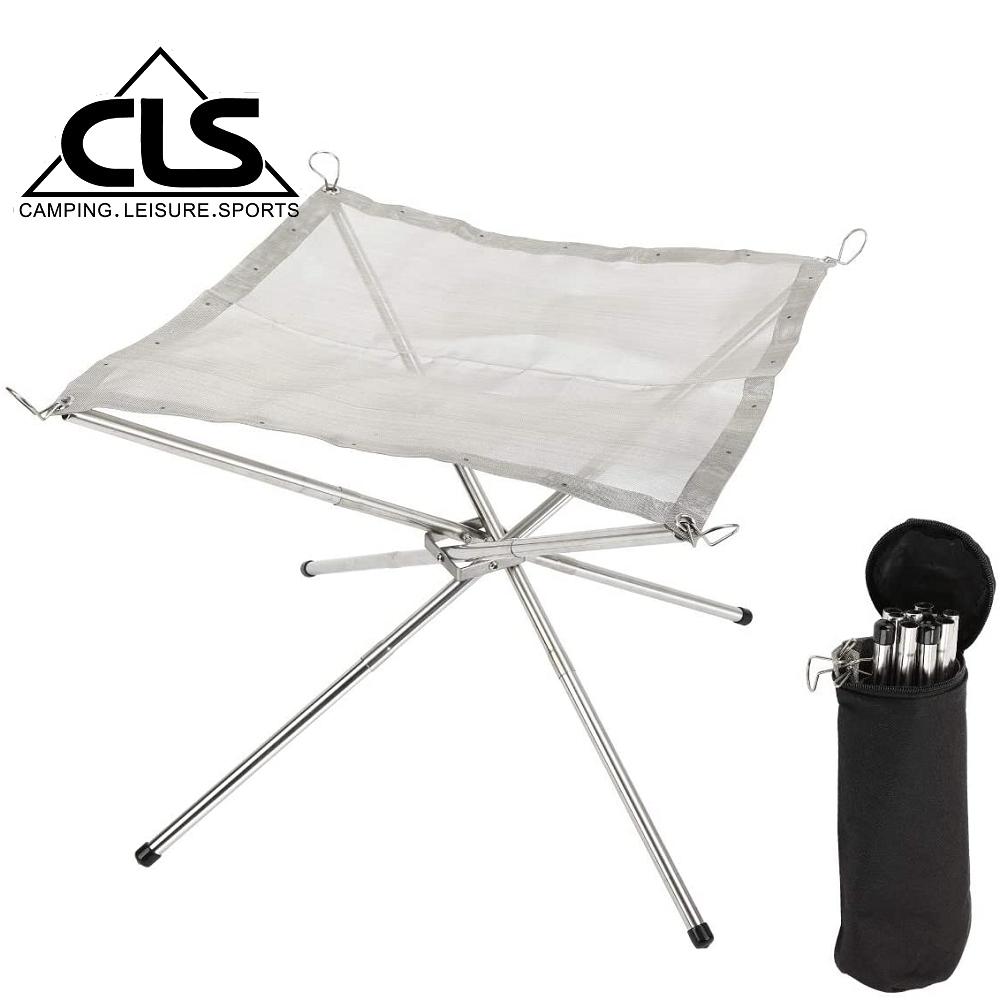 【韓國CLS】折疊收納不鏽鋼焚火台/輕量/露營/野餐