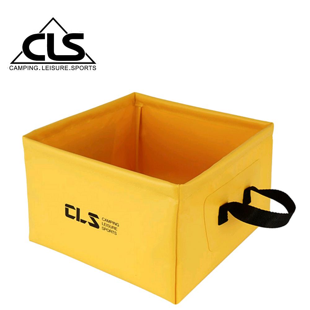 【韓國CLS】戶外多功能方形折疊水桶/儲水盆/水袋(三色任選)