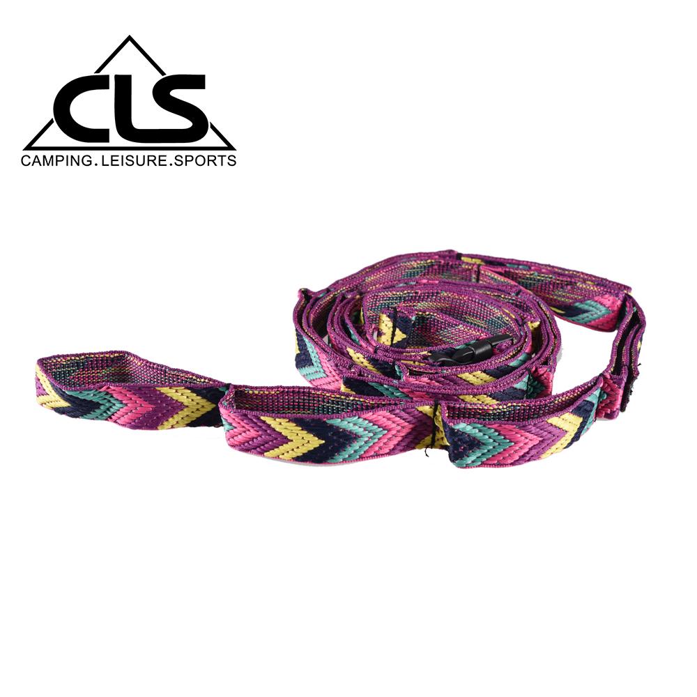 【韓國CLS】多功能露營掛繩 紫色限定款/可伸縮掛物繩/彩虹掛繩