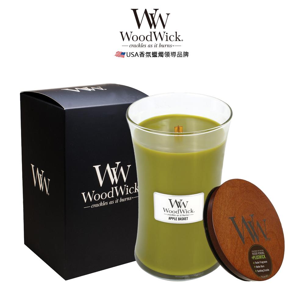 美國WoodWick 蘋果枝椏 香氛蠟燭 624g