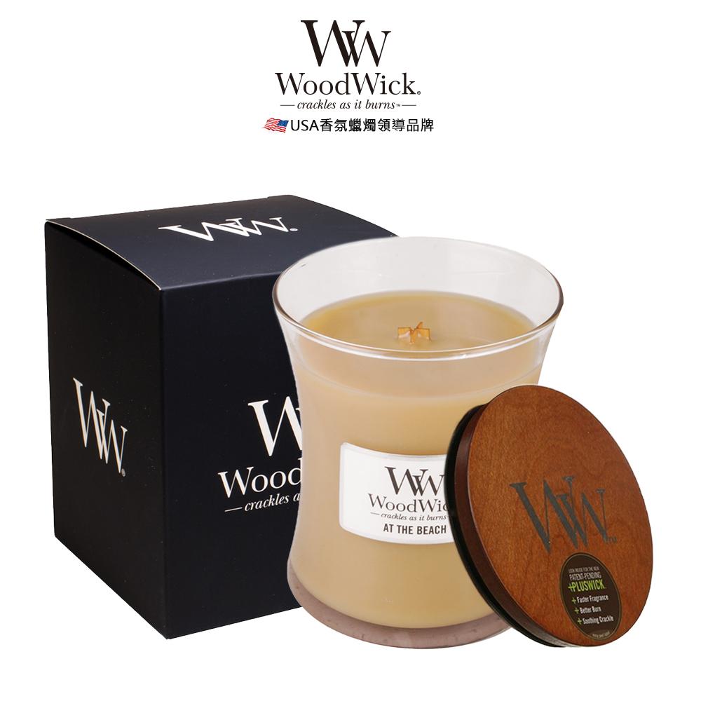 美國WoodWick 黃金海岸 香氛蠟燭 275g